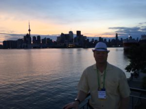 Toronto Skyline with Dr. Petri I. Salonen